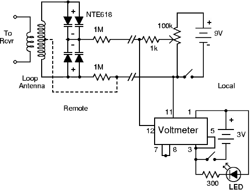 small loop tuner schematic