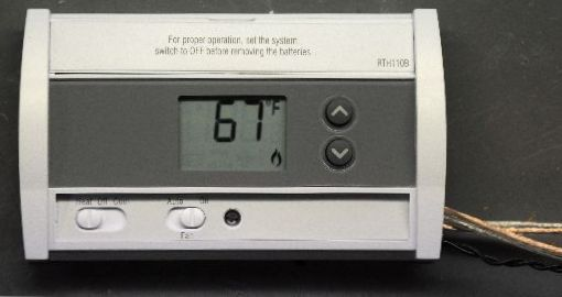 thermostat working